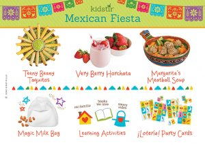 Photo of Mexican Fiesta Content Label