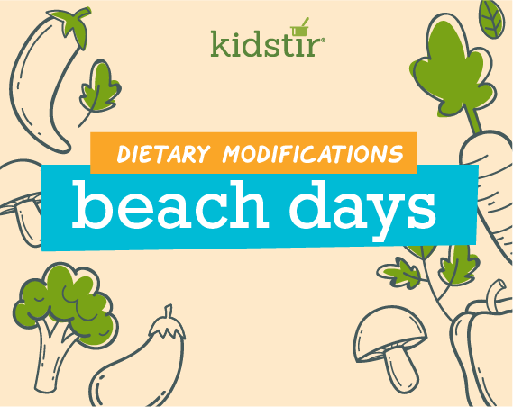Beach Days Dietary Modifications
