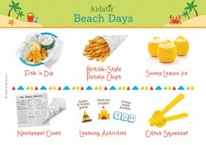 June Beach days Content Label