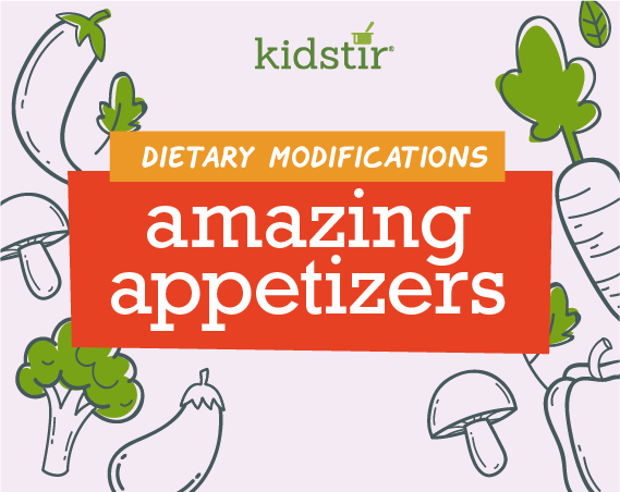 Amazing Appetizers Dietary Modifications