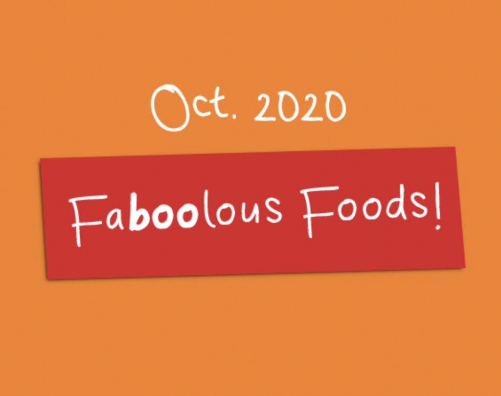 October 2020, Faboolous Foods