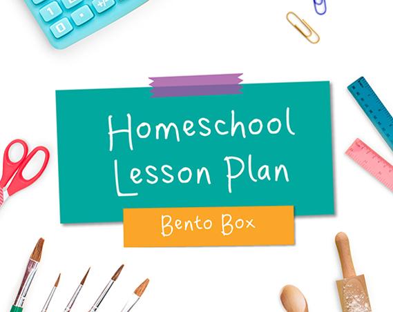Bento Box Homeschool Lesson Plan