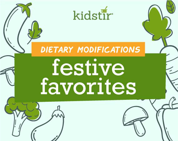 Festive Favorites Dietary Modifications