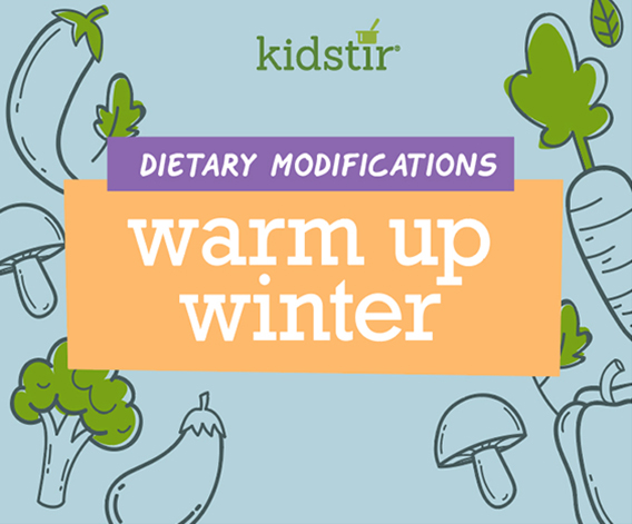 Warm Up Winter Dietary Modifications