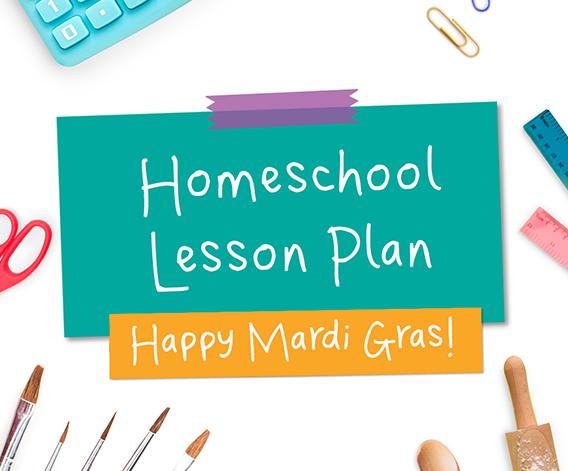 Happy Mardi Gras Lesson Plan