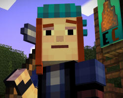Petra from Minecraft Storymode