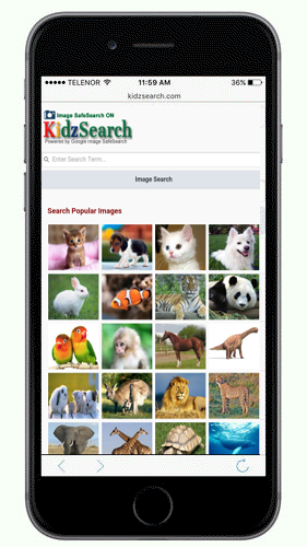 KidzSearch Mobile App Image Search