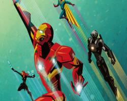 Iron Man, Cival War, Captain America