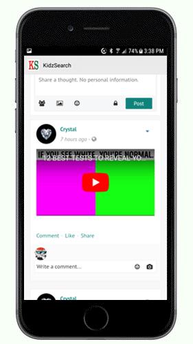 KidzNet Safe Social Network
