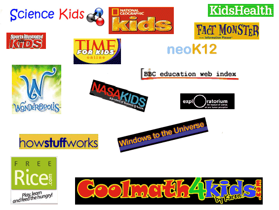 the top best kid's websites - learn with these educational and fun sites