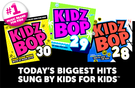 Today's Biggest Hits Sung By Kids For Kids