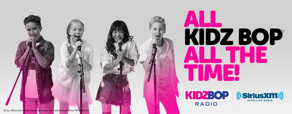 KIDZ BOP Kids SiriusXM Radio