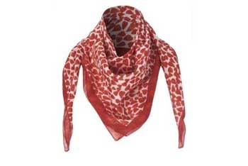 Heart pattern scarf, $12, NewLook.com