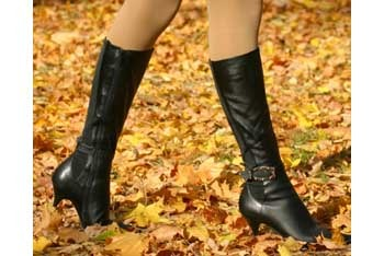 We love fall and winter boots!