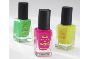 BarryM Neon nail paint in Pink, Green and Yellow, $4 each, BarryM.com