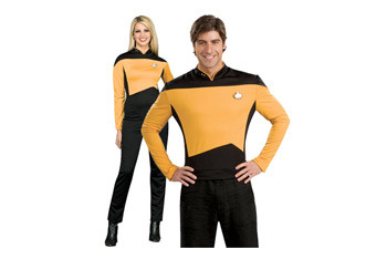 Star Trek Operations Couple, $80, Fancydress.com