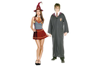 Wizard Academy Couple, $95, Fancydress.com