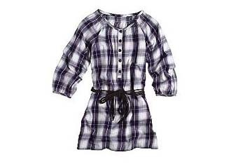 Dream Out Loud by Selena Gomez plaid tunic, $16, KMart