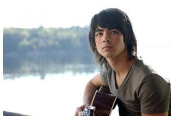 Joe and his first love - his guitar
