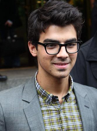 Joe looking cool in glasses