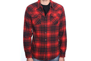 Woven plaid shirt, $25.90, Forever21