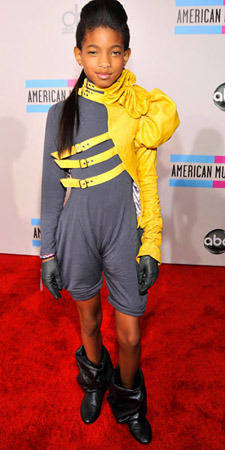 Willow Smith's puzzling outfit