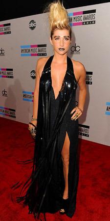 Kesha, it's not Halloween!