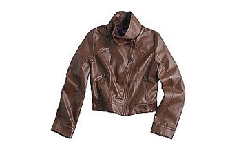 Dream Out Loud by Selena Gomez pleather jacket, $24, at KMart