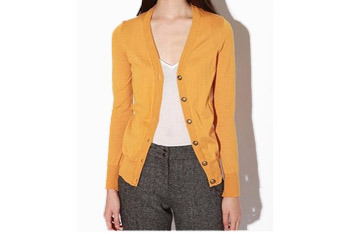 BDG classic yellow cardigan, $38, at Urban Outfitters