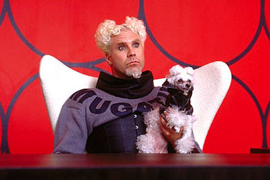 Will as Mugatu in Zoolander