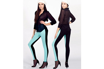 Two sided leggings, $42, AmericanApparel.net