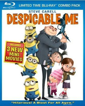 Despicable Me Blu-Ray + DVD