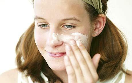 Switch to a creamy cleanser