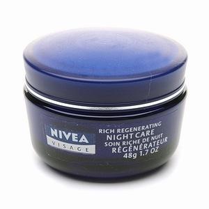 Nivea Visage Rich Regenerating Night Care for Dry to Sensitive Skin, $5.99