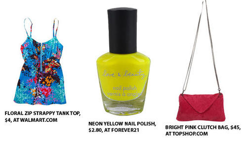 Neon brights are back in 2011!