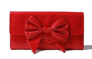 Kimchi Blue Bow Clutch bag, $18, at Urban Outfitters