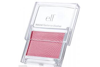 e.l.f. Natural Radiance Blusher in Flushed, $3, at eyeslipsface.co.uk