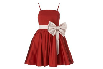Giant bow prom dress, $30, at NewLook.com