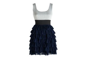 Elisha ruffle dress, $54.60, at Delias.com