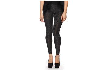 Stylish metallic leggings, $11.80, at Forever21.com