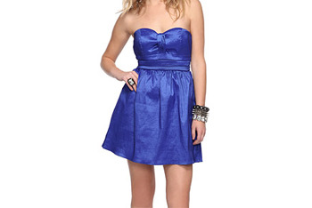 Strapless party dress, $24.80, at Forever21.com