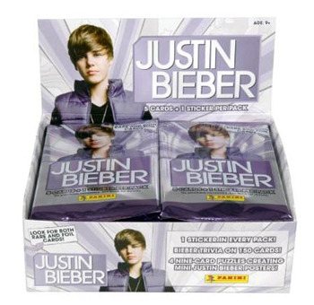Justin Bieber Trading Cards