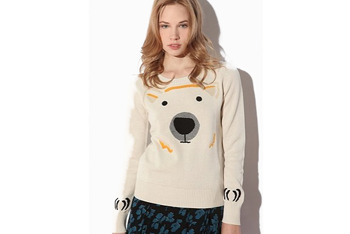 Cooperative Polar Bear Sweater, $49, at UrbanOutfitters.com