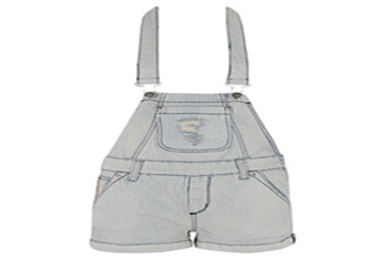 Forever 21 Stitched Denim Overall $24.80