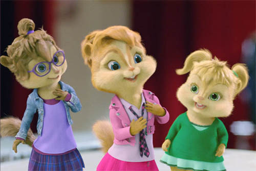 No. 7: The Chipettes