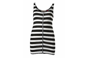 Forever 21 zip front dress, $15