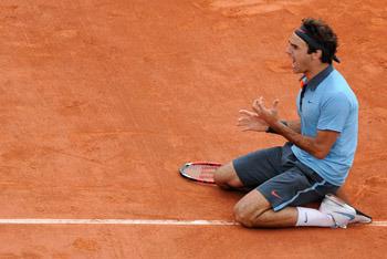 1st French for Federer