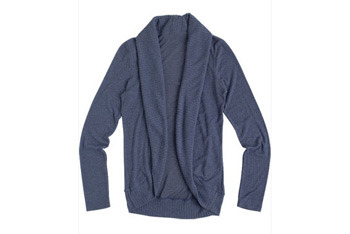 Brushed cocoon cardigan from Delias, $30