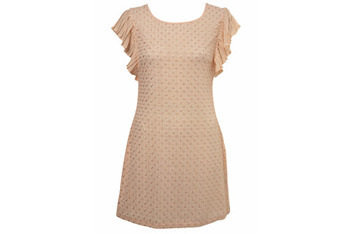 Lace frill dress from Miss Selfridge, $60