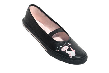 Underground Dreaming Cat leather pumps from Sohos.co.uk, $14.99